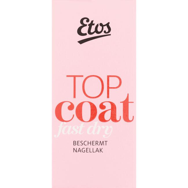 Etos Nailcare Topcoat Fast Dry