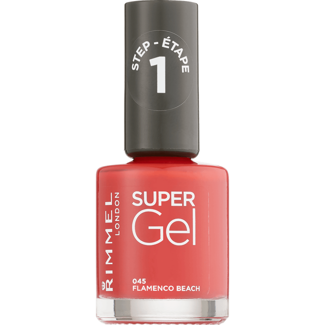 Rimmel London Super Gel Nailpolish - 045 Flamenco Beach
