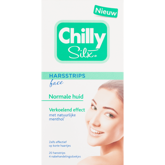 Chilly Silx Harsstrips Face Normale Huid