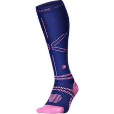 Stox Sports Socks Women - Dark Blue / Pink - W2 - 1 Paar