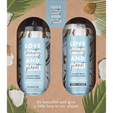 Love Beauty And Planet Coconut Water & Mimosa Flower Geschenkset