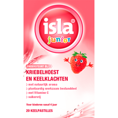 isla Junior Keelpastilles