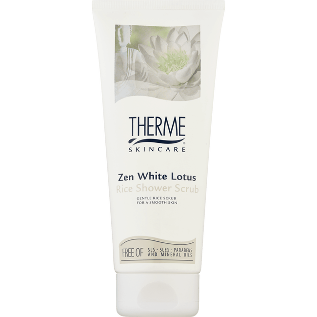 Therme Zen White Lotus Shower Scrub