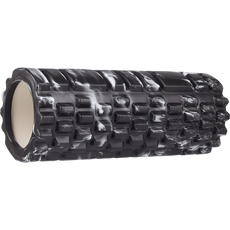 Fit Essentials - Foam Roller - Marmer Zwart - Roze
