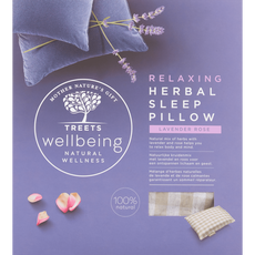 Treets Wellbeing Relaxing Herbal Sleep Pillow