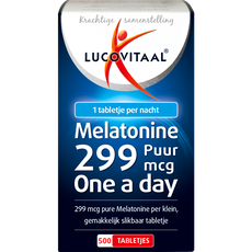 Lucovitaal MELATONINE 0,299 MG PUUR