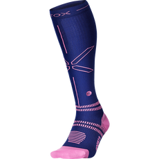 Stox Sports Socks Women - Dark Blue / Pink - W1 - 1 Paar