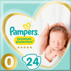 Pampers Premium Protection Luiers 0
