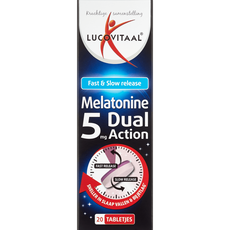 Lucovitaal Melatonine 5mg Dual Action