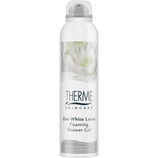Therme Zen White Lotus Foaming Shower Gel