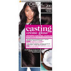 L'Oréal Paris Casting Crème Gloss 200 Midnight Chocolate Intens zwart - Haarkleuring