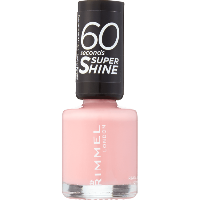 Rimmel London 60 Seconds Supershine Nailpolish - 262 Ring A Ring O' Roses