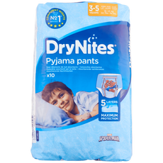 Huggies DryNites Boys Pyjama Pants 3-5