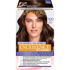 L'Oréal Paris Excellence EXCELL FR/NL 500 True Light Brown Haarkleuring Bruin