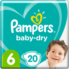 Pampers Baby-Dry Luiers 6