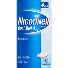 Nicotinell Cool Mint 4 mg Kauwgom
