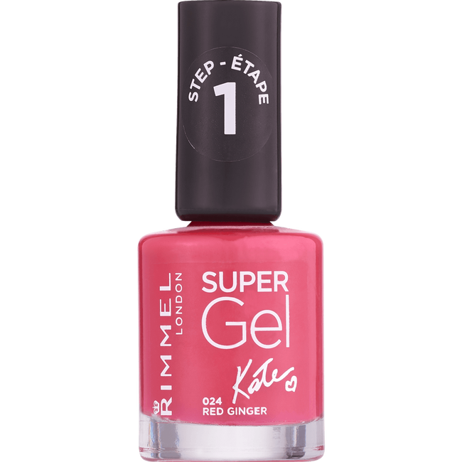 Rimmel London Super Gel Nailpolish - 024 Red Ginger