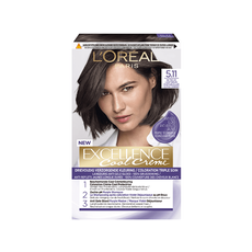 L'Oréal Paris Excellence Cool Creams 5.11 - Ultra Ash Lichtbruin - Permanente Haarverf
