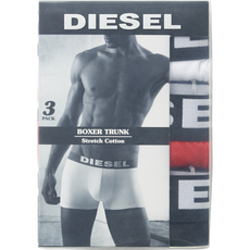 Diesel 3pack boxershorts White/Red/Black XL