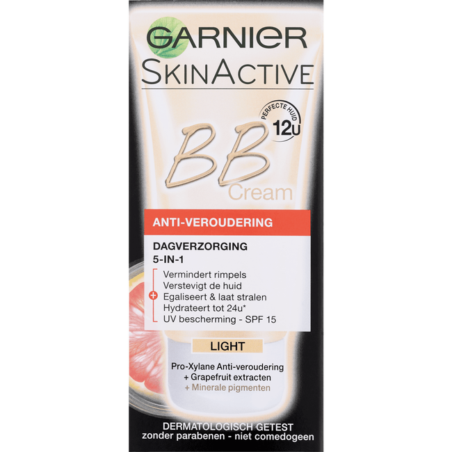 Garnier Skin Naturals Miracle Skin Perfector BB Cream Anti-Age SPF15 Light