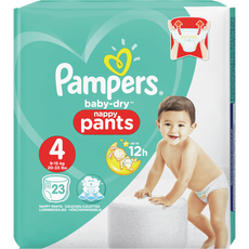 Pampers Baby-Dry Pants 4