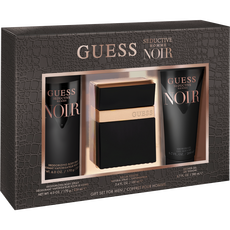 Guess Seductive Noir Men Set 100Ml Edt + 200Mlsg + 170G Bs