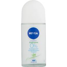 NIVEA Pure & Natural Anti-Transpirant Roll-On