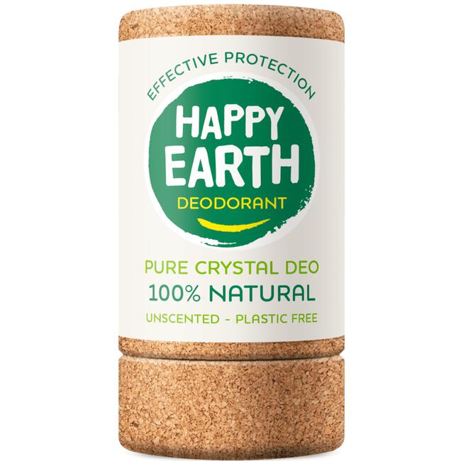 Happy Earth Pure Crystal Deo Unscented