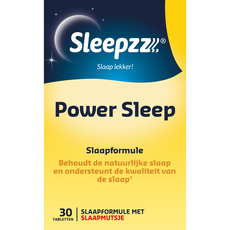 Sleepzz Power Sleep 30 tabletten