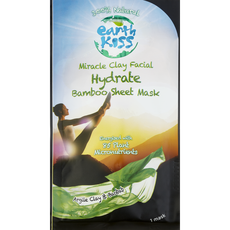 Earth Kiss Clay Hydrate Bamboo Sheet Mask