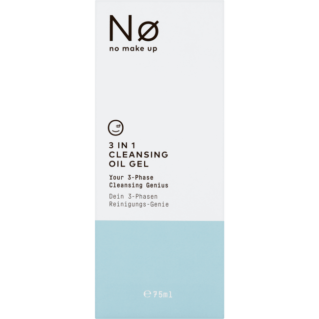 No No Make Up Fresh Today 3In1 Cleansing Oil Gel