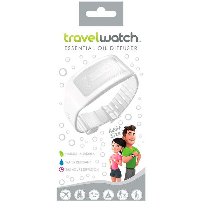 TravelWatch Adults Ice White