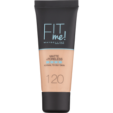 Maybelline - Fit Me Matte & Poreless - 120 Classic Ivory - Foundation SPF18