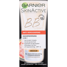 Garnier Skin Naturals Miracle Skin Perfector BB Cream Anti-Age SPF15 Medium