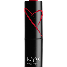 NYX Professional Makeup Shout Loud Satin Lipstick Red Haute SLSL11