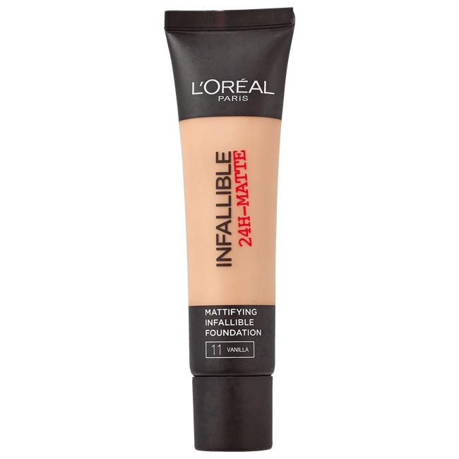 L'Oréal Paris Infaillible 24H-Matte Foundation 11 Vanilla