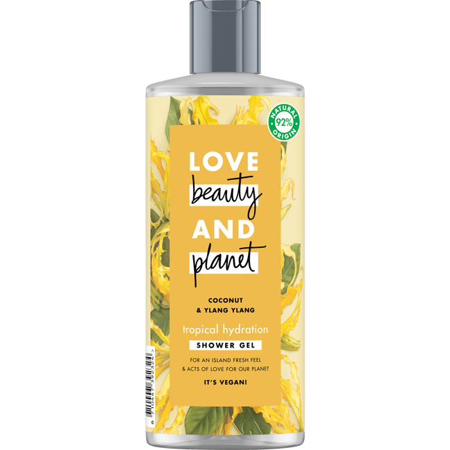 Love Beauty And Planet Tropical Hydration Coconut Oil & Ylang Ylang Shower Gel