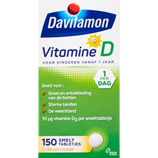 Davitamon Kind Vitamine D Smelttabletten Citroen
