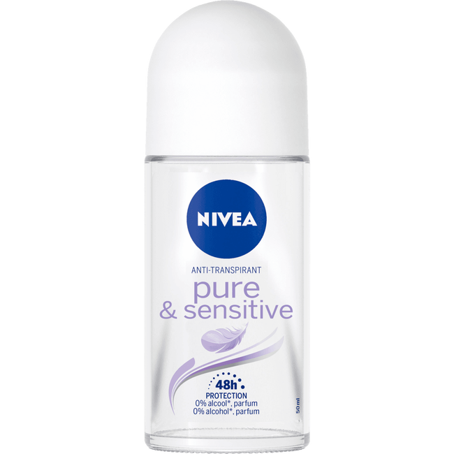 NIVEA Pure & Sensitive Deodorant Roller