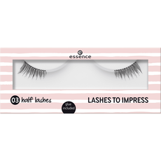 essence lashes to impress 03 half lashes