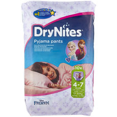 Huggies DryNites Girls Pyjama Pants 4-7