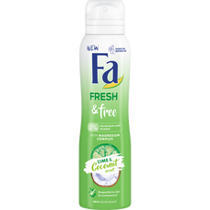 Fa Fresh & Free Deospray Coconut & Lime