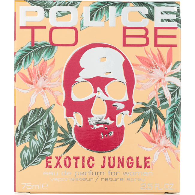 POLICE EXOTIC JUNGLE WOMAN EDP 75 ML
