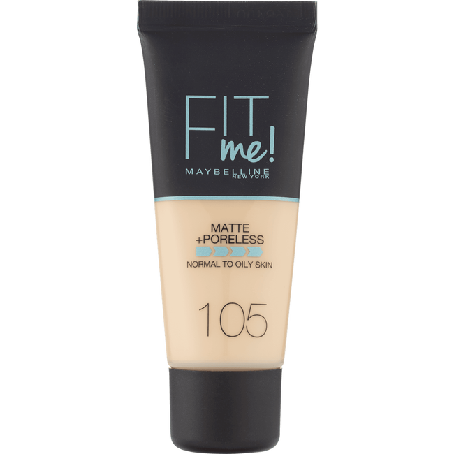 Maybelline Fit Me Matte + Poreless Foundation 105 Natural Ivory