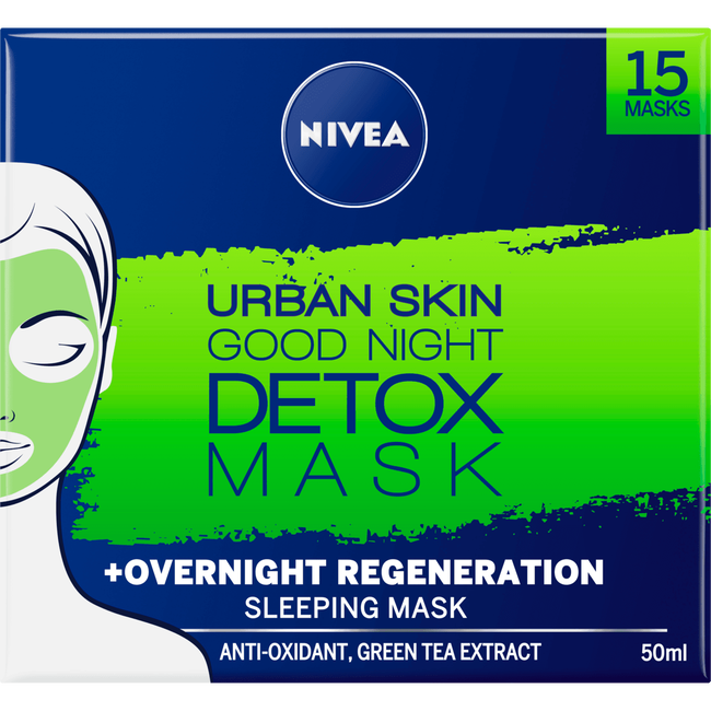 NIVEA Urban Sleeping Melt-in Sleeping Masks