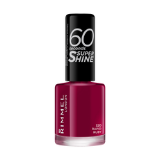 Rimmel London 60 Seconds Super Shine nagellak 320 Rapid Ruby