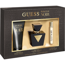 Guess Seductive Noir Woman Set 75Ml Edt + 15Ml Ts + 200Ml Bl