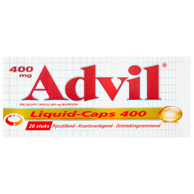Advil Liquid-Caps Capsules 400 mg