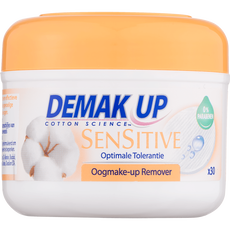 Demak'Up Sensitive Oogmake-up Reiniger Wattenschijfjes