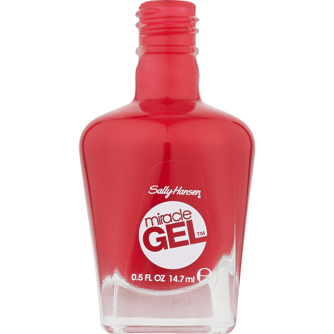 Sally Hansen Miracle Gel Nagellak - 444 Off with her Red!